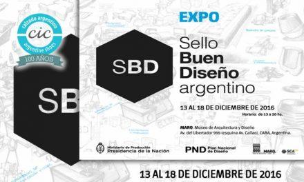 """EXPOSICION """"SELLO DEL BUEN DISEÑO"""" 6TA EDICIÓN"""