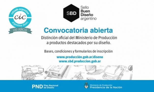 Convocatoria 7º Edición Sello de Buen Diseño Argentino 2017