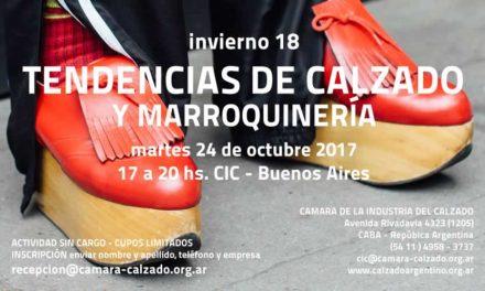 c185716e SEMINARIO TENDENCIAS DE CALZADO EN CIC/ INTI TEXTILES 24 Octubre 2017
