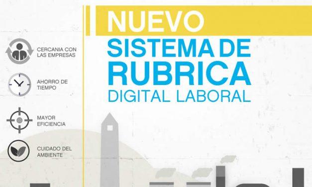 SISTEMA DE RUBRICA DIGITAL LABORAL
