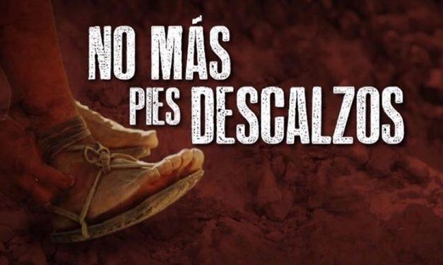 No más pies descalzos