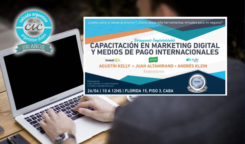 Desayunos Empresariales | Marketing Digital y Medios de Pago Electrónicos Internacionales