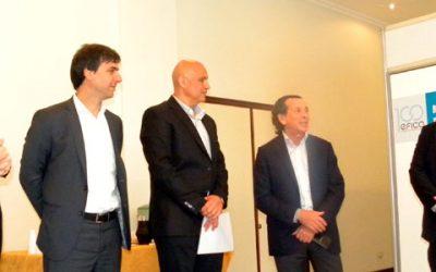 Compradores internacionales de calzado en EFICA 100