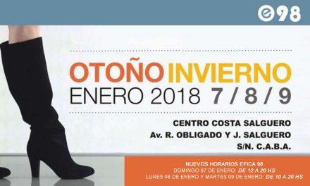 Lanzamiento Efica 98 Temporada Otoño – Invierno 2018