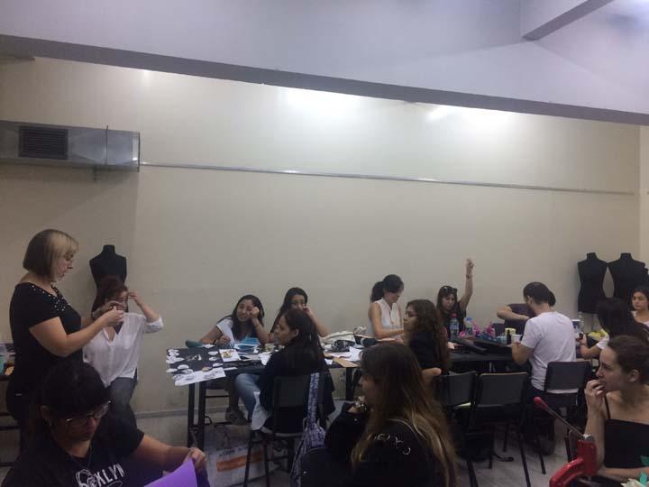 CLASE ABIERTA CARRERA DE DISEÑO DE CALZADO en la UNIVERSIDAD DE PALERMO 04