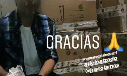 Campaña de donación de Calzado NO MÁS PIES DESCALZOS