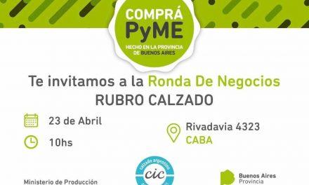 Comprá PyME – Ronda de negocios, Rubro Calzado