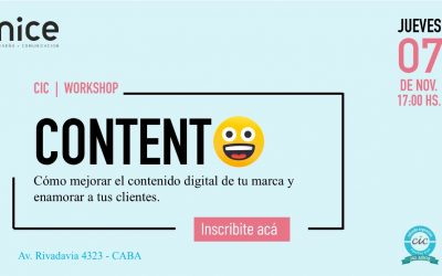 Workshop CONTENTO